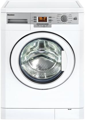 "WM77120 24"" Front Loading Washer with 1.95 Cu. Ft. Capacity  1200 Spinning Cycle  Inox Drum Material  Child Lock  Overflow Safety and Electronic Control  in"