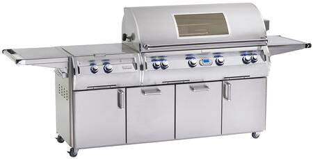 E1060S-4L1N-51-W Magic Echelon Diamond Series Natural Gas Grill  1056 sq. in. Cooking Area With Power Burner  One Infrared Burner And Magic View Window On