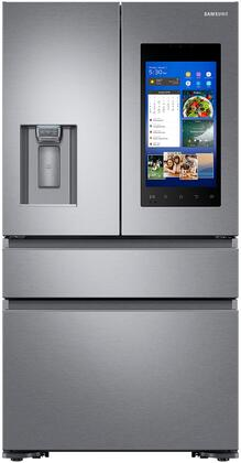 "RF23M8570SR 36"" Counter-Depth French Door Refrigerator with Family Hub  22.2 cu. ft. Capacity  FlexZone  Exernal Ice and Water Dispenser  and Auto Water Fill"