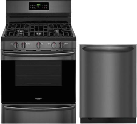 2 Piece Kitchen Appliance Package with FGGF3036TD 30