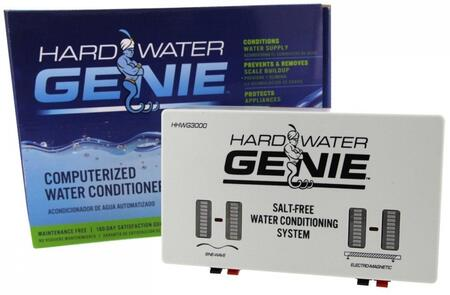 HARDWATERGENIE Hard Water Genie Computerized Water Conditioner System with RF Radio Sine Wave Technology  DIC Electromagnetic Technology  Scale Build-Up