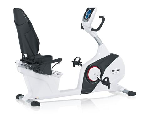 7688-600 GOLF R Recumbent Bike with LCD Electronic Computer Display  Heart Rate Monitor and Thick Padded Seat