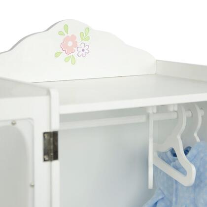 TD-0209A Teamson Kids - Little Princess 18 Doll Furniture - Classic Closet with