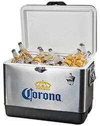 CORIC-54 Corona Ice Chest - 54 Quart with Solid Latch Seals Cooler and Solid Stainless Steel