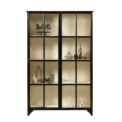 P020622 Maura Iron Display Cabinet In