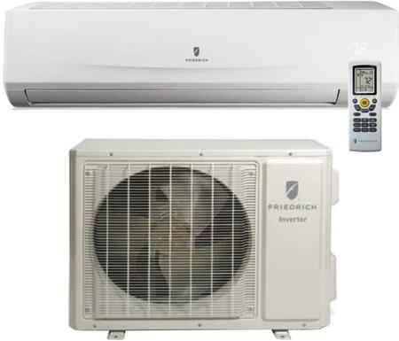 MAD18YJ Single Zone Mini Split System with 18000 Cooling and 19800 Heating BTU Capacity  in White 230-208