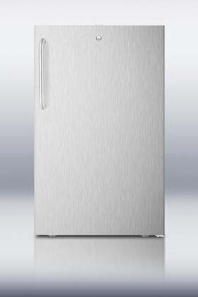 FS407LCSSADA 20 inch  Wide Built-in Undercounter ADA Compliant Compact All-freezer  -20 C Capable With A Lock and Complete Stainless Steel