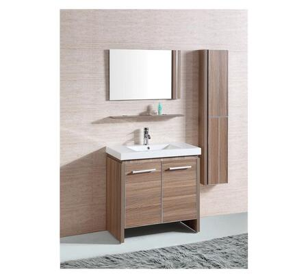 Click here for WTH0932-R Sink Vanity With Mirror and Side Cabinet... prices