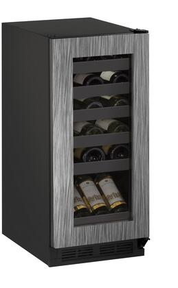 U-Line U1215WCINT00B 15 Built-in/Freestanding Wine Storage, Integrated