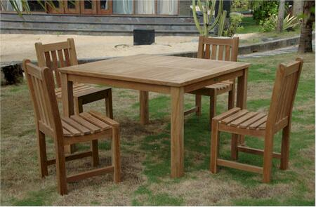 SET-101B 5-Piece Dining Set with 47