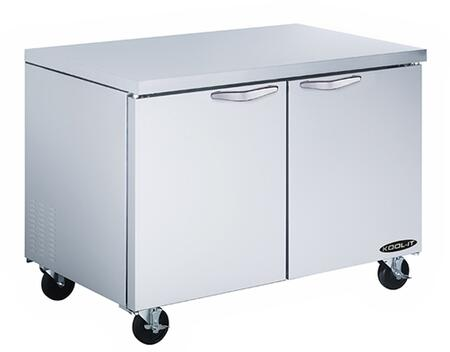 KUCF362 36 inch  Undercounter Freezer with 9.2 cu. ft. Capacity  2 Doors  4 Shelves  3/8 HP  in Stainless