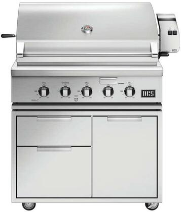 Freestanding Grill with BH1-36R-N 36