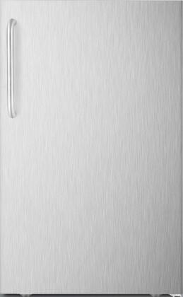 FS408BLXCSS 20 inch  Upright Freezer with 2.8 cu. ft. Capacity  Pull-Out Drawers  Adjustable Thermostat and Professional Handle  in Stainless