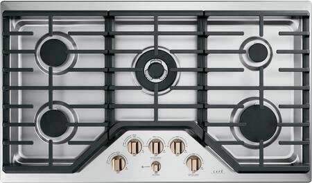 GE CGP95363MS2 36 Inch Gas Cooktop