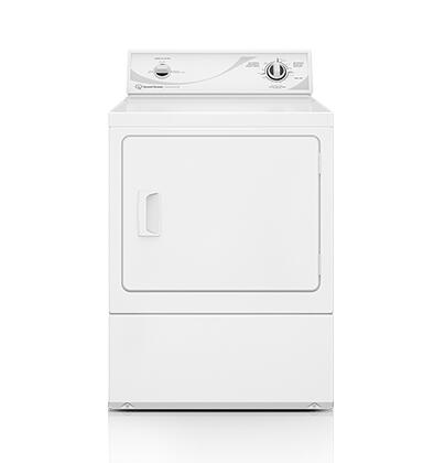 "ADE3SRGS 27"" Electric Dryer with 7.0 cu. ft. Capacity  Commercial-Grade Steel Cabinet  Secured Lint Filter  3 Temperature Settings and ADA Compliant in"
