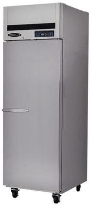 KTSF1 Single Doors Freezer with 1 Doors  3 Shelves  20.5 cu. ft. Capacity  1/2 HP  LED Interior Lighting  in Stainless
