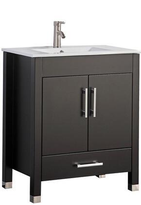 -8165AE Monaco 36 Single Sink Bathroom Vanity Set