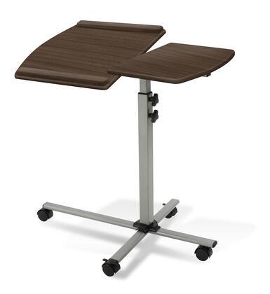 202-WAL Walnut Height Adjustable Mobile Laptop