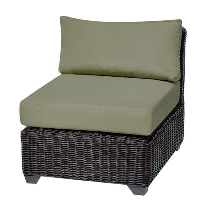 Tkc050b-as-cilantro Venice Armless Sofa With 2 Covers: Wheat And