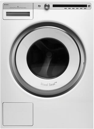 "W4114CW 24"""" Energy Star Qualified Front Load Logic Washer with 2.8 cu. ft. Capacity  1400 RPM Spin Speed  21 Programs  Anti Block Drain Pump  and Child Lock"" 916259"