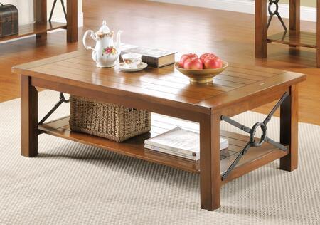 Wyatt_Collection_5954-CT_Coffee_Table_with_Bottom_Shelf__Block_Feet__Solid_Hardwood_Construction__Birch_Veneer_and_Poplar_Material_in_Cherry