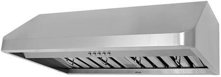 CHX9136SQB-1 36 inch  Under Cabinet Range Hood With 680 CFM Internal Blower  3 Speeds  Mechanical Push Button Control  LED lights  Dishwasher safe professional