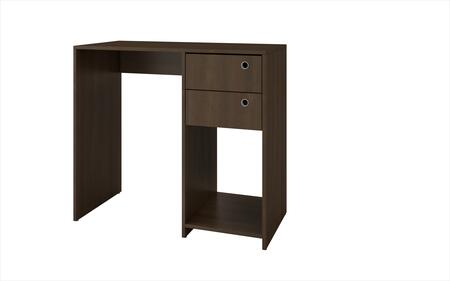 37AMC49 Accentuations by Manhattan Comfort Practical Pascara Work Desk with 2 - Drawers and 1 Cubby in