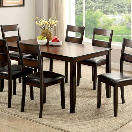 Click here for Norah I CM3351T-7PK 7 Pc. Dining Table Set with Tr... prices