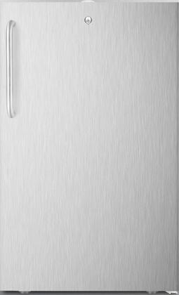 FS407L7CSSADA 20 inch  ADA Compliant Compact Freezer with 2.8 cu. ft. Capacity  Commercially Listed  Factory Installed Lock  Hospital Grade Cord with Green Dot Plug