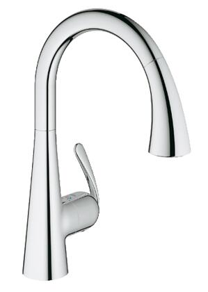 Grohe 32298001 Ladylux Single-Handle Kitchen Faucet, Starlight