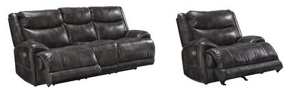 Brinlack Collection 85602-15-13 2-Piece Living Room Sets with Motion Sofa  and Recliners in