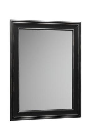 606124-B01 24 inch  x 32 inch  Traditional Style Wood Framed Mirror: Antique