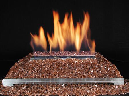 DF-GM30-CU 15 Pound Fireplace Glass: