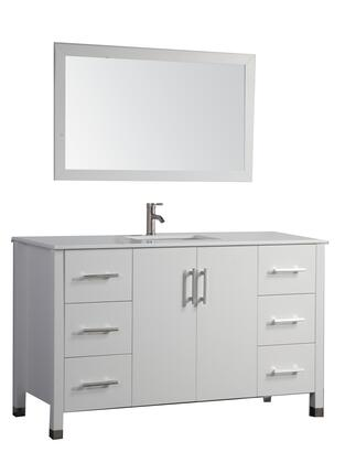 -8116CW Monaco 48 Single Sink Bathroom Vanity Set