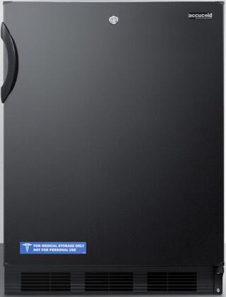FF7LBLBIADA 24 inch  FF7BIADA Series ADA Series Medical  Commercial Freestanding or Built In Compact Refrigerator with 5.5 cu. ft. Capacity  Lock  Adjustable Spill