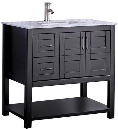 -2136E Norway 36 Single Sink Bathroom Vanity Set