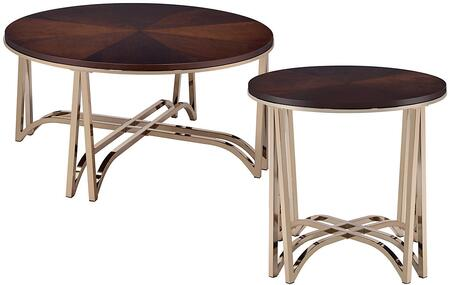 Novus Collection 80990CE 2 PC Living Room Table Set with 36