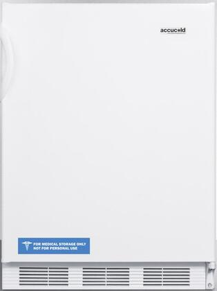FF7BIADA 24 inch  FF7BIADA Series ADA Compliant  Medical  Commercially Approved Freestanding or Built In Compact Refrigerator with 5.5 cu. ft. Capacity  Seamless