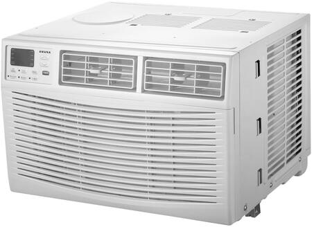 Amana 15,000 BTU 115V Window-Mounted Air Conditioner with Remote Control White