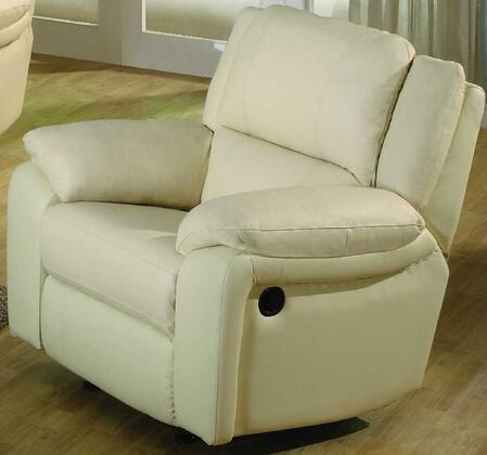 BA6636C-IV Baxter 38 inch  Leather Match Chair in