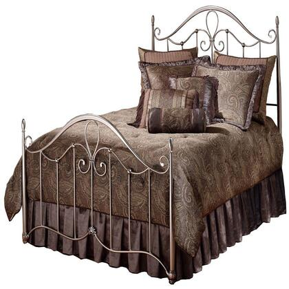 Doheny 1383BFR Full Sized Bed with Headboard  Footboard  Frame and Tubular Steel Construction in Antique
