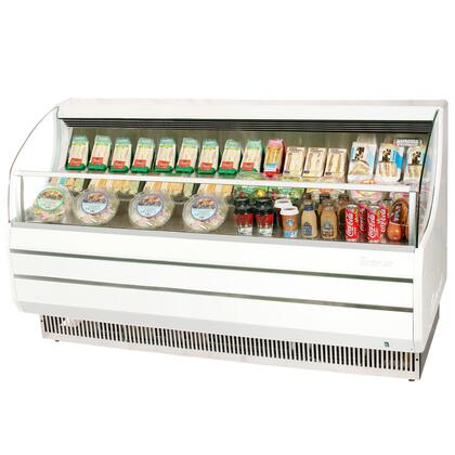 TOM75SSF 75 Open Display Merchandiser with Modern Design  Environmental Friendly Refrigeration System  Stainless Steel Front Panel  Anti-Rust