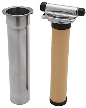 U.1812-2 Perrin & Rowe Inline Filter Complete with Cartridge in Stainless
