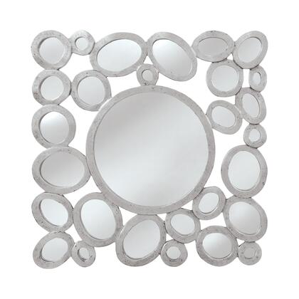 MW7888-0018 Orveta Mirror in Silver  Black