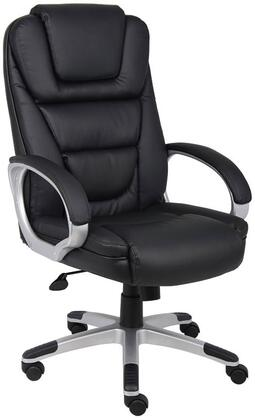 "B8601 45"" ""NTR"" Executive Chair with Waterfall Seat Design  Upright Locking Position  Adjustable Tilt Tension  Seat Height Adjustment in"