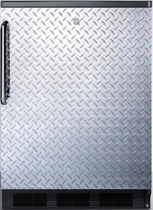 FF7LBLBIDPL 24 inch  FF7BI Series Medical  Commercial Freestanding or Built In Compact Refrigerator with 5.5 cu. ft. Capacity  Lock  Adjustable Spill Proof Glass