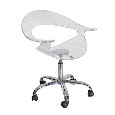 CHR-TW-RUMOR CL Rumor Height Adjustable Contemporary Office Chair with Swivel in