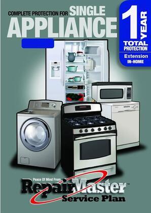 RMAPP1U1500 Major Appliance 1 Year Extension Warranty