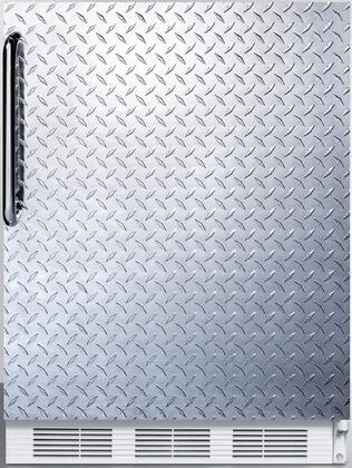 FF7BIDPL 24 inch  FF7BI Series Medical  Commercially Approved Freestanding or Built In Compact Refrigerator with 5.5 cu. ft. Capacity  Seamless Interior  Hidden