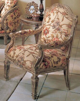 OR1333C Orchard Fabric/Woodtrim Chair with Floral